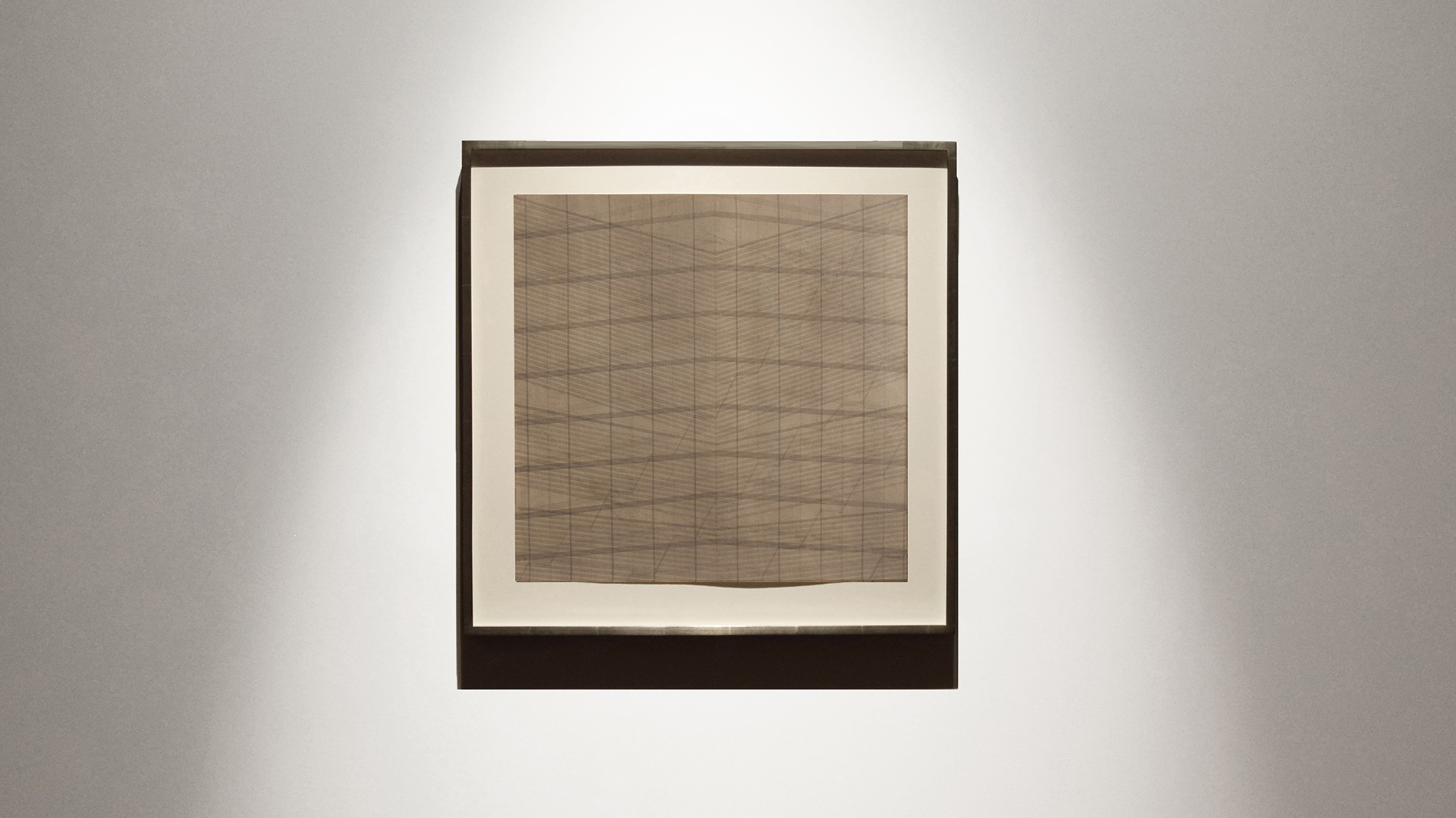 Nasreen Mohamedi - A life in So(u)litude Her work is about that elemental approach to life, earth, art - the infinitesimal quality of time, sound, and space.