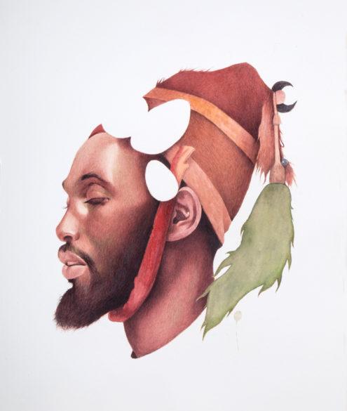 Irfan Hasan, Moor in a headdress