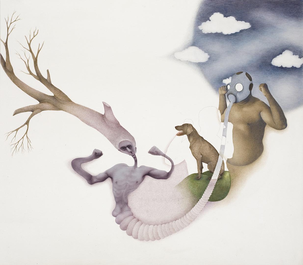 Irfan Hasan, Composition 1, 2008