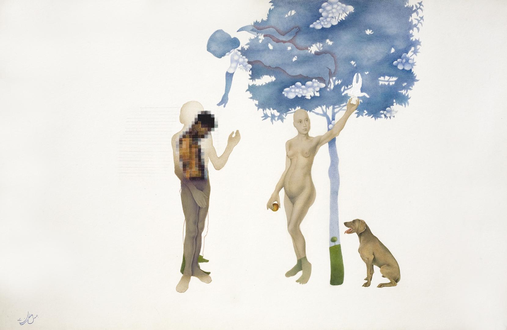 Irfan Hasan, Eve and me, 2007
