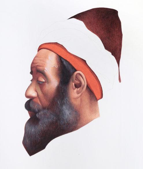 Irfan Hasan, Head of a Moroccan man