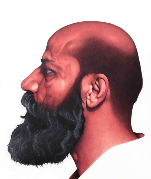 Irfan Hasan, study of head