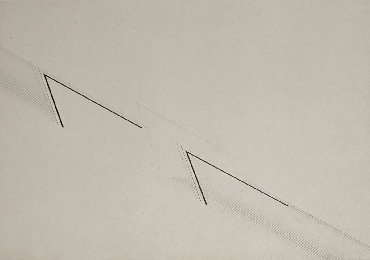 Nasreen Mohamedi, Untitled (late 1970s-early 1980s) Ink and graphite on paper