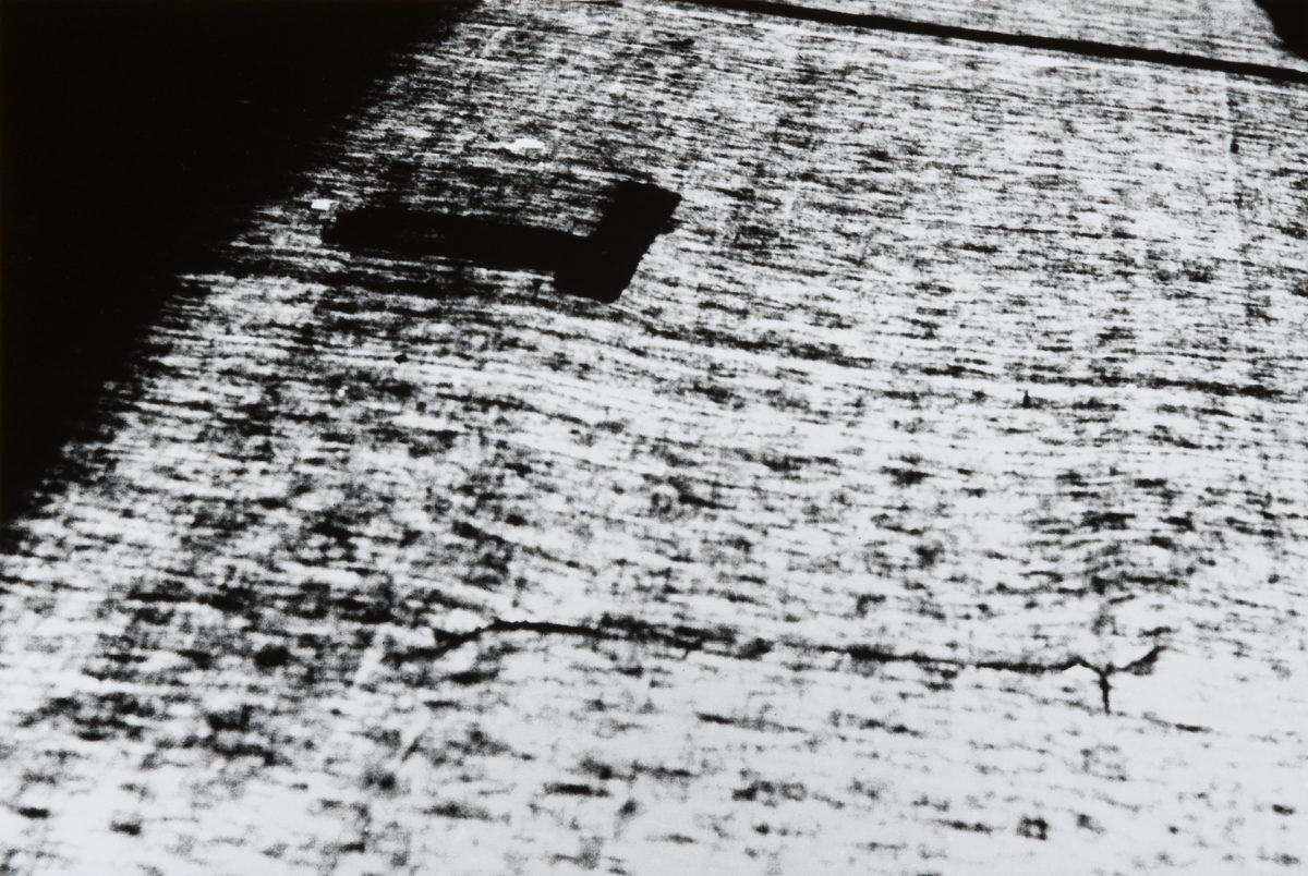 Nasreen Mohamedi, Black and white photograph
