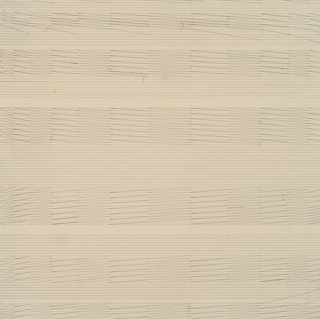 Nasreen Mohamedi, Untitled (ca. 1975) Ink and graphite on paper